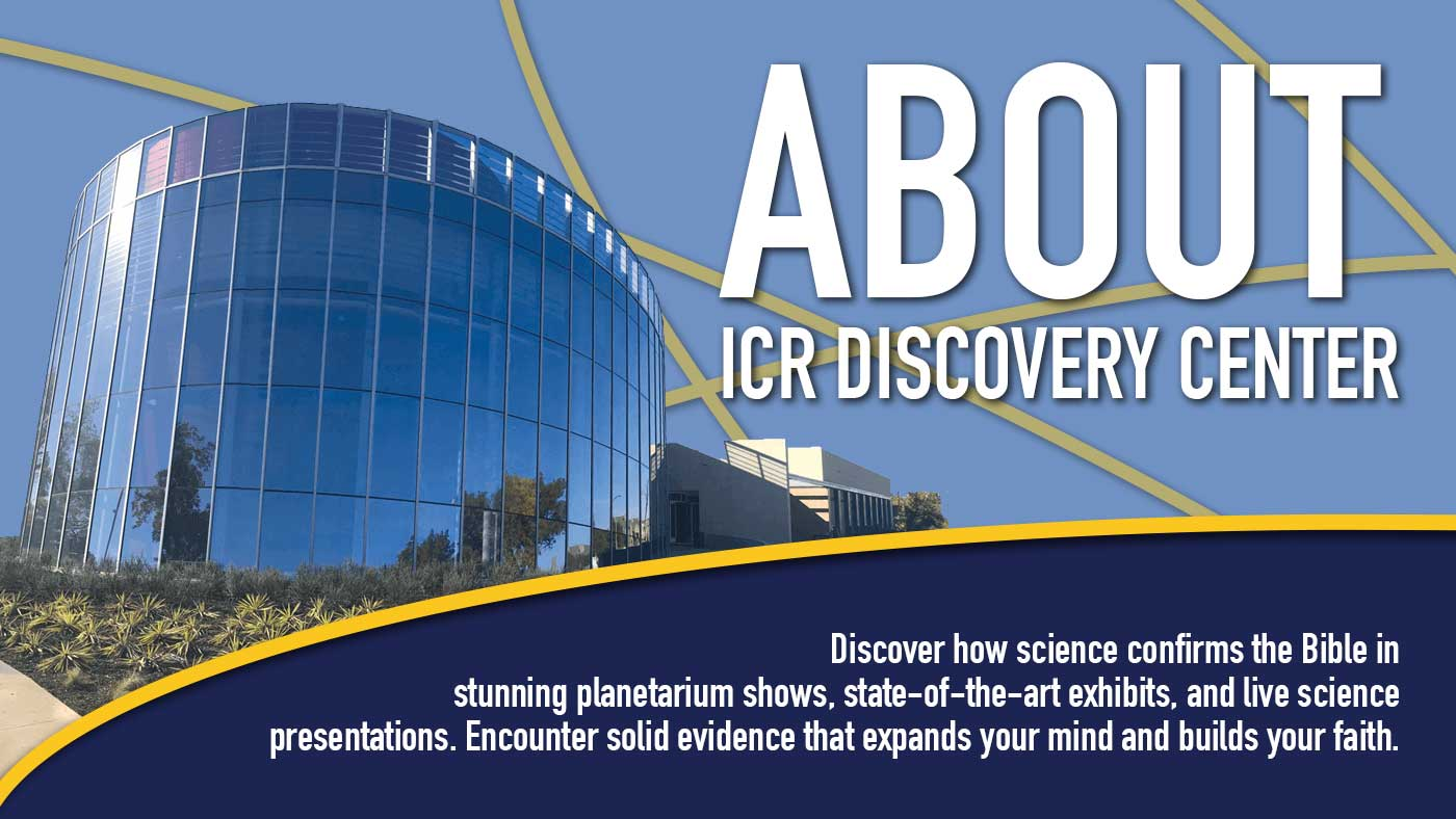 A picture of the ICR Discovery Center.
